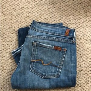 7 FAM bootcut jeans size 30